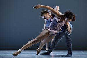 Ballet BC in 16 + a room_Dancers Livona Ellis and Darren Devaney_photo Michael Slobodian