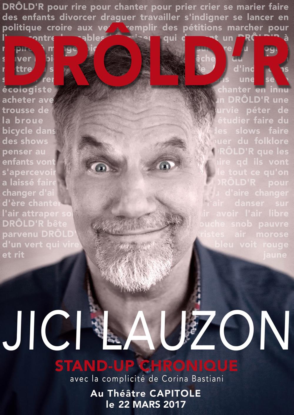 Affiche de Jici Lauzon