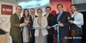 Inauguration officielle du 5e Salon international des vins et spiritueux de Québec