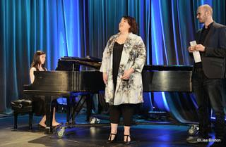 La contralto Marie-Nicole Lemieux, la pianiste Anne-Marie Bernard et le comédien  Emmanuel Bédard