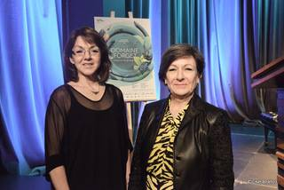 la directrice générale Ginette Gauthier et la présidente du conseil d'administration Louise St-Pierre