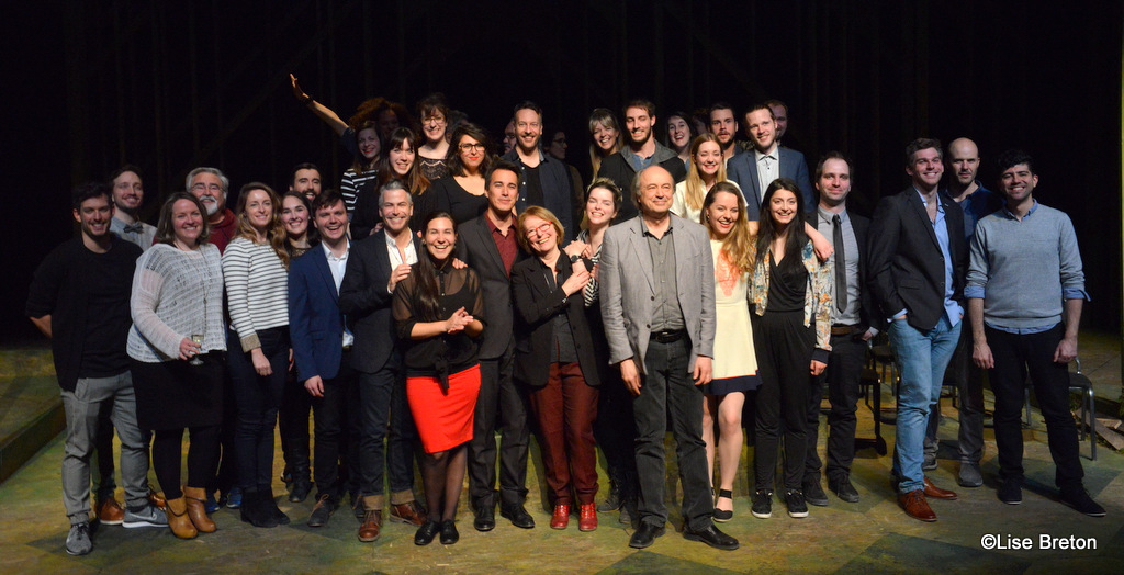 Comediens et artisans Saison 17-1 8 La Bordée Photo @Lise Breton