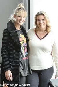 Sveva Alviti et Lisa Azuelos