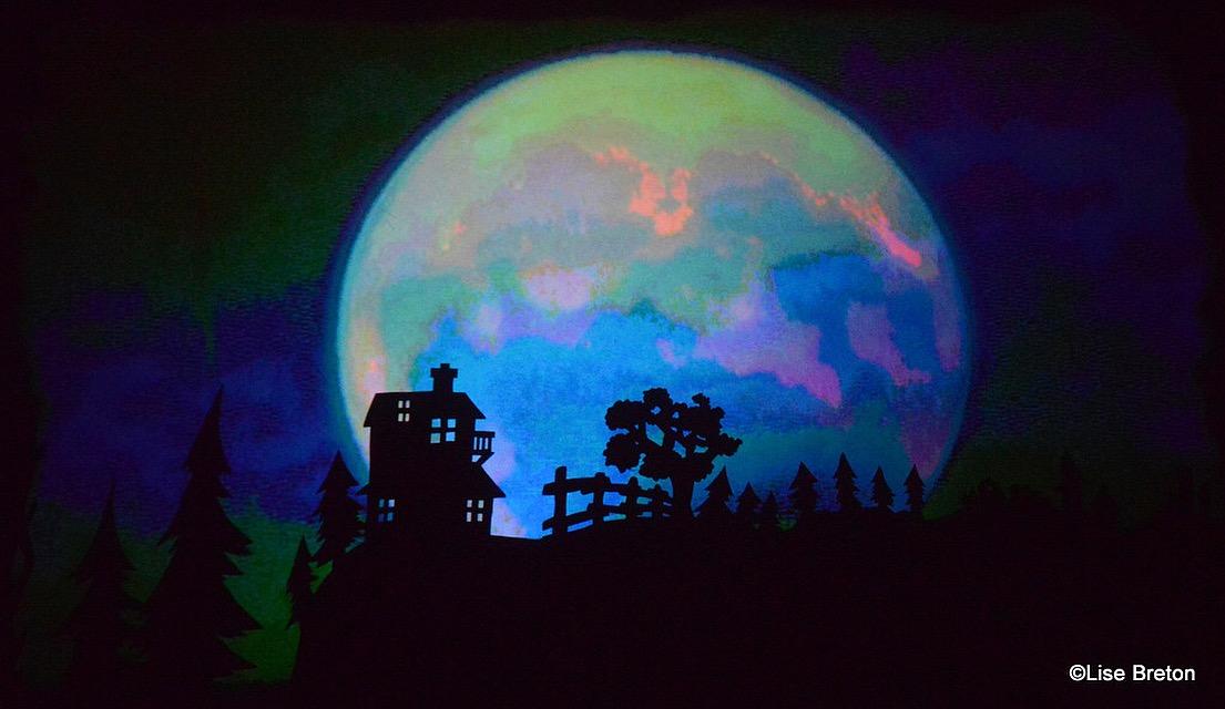 Theatre d'images dans Le Piano à Voile Photo Lise Breton