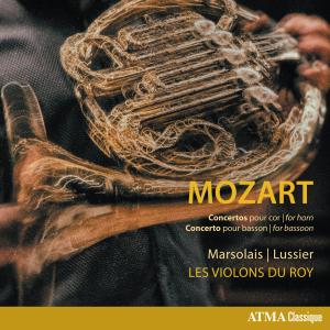MOZART Concertos pour cor Concerto pour basson Marsolais | Lussier Les Violons du Roy