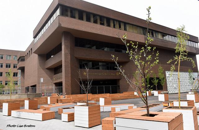 Bibliothèque Gabrielle-Roy où tout débute!