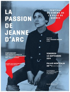 La Passion de Jeanne d'Arc , de Carl Theodor Dreyer