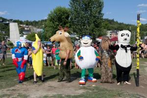 course mascottes