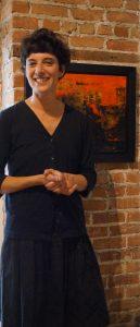 Fanny H-Levy, directrice artistique, Galerie L'ARTICHO