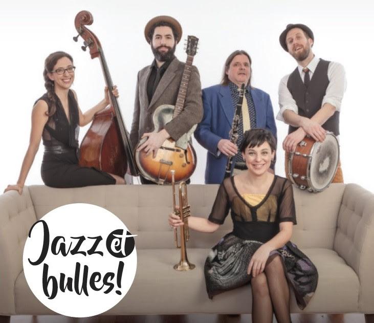 Jazz et bulles avec Misses Satchmo