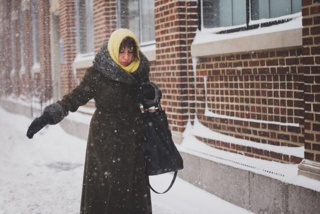 La saison de l'hiver en chanson