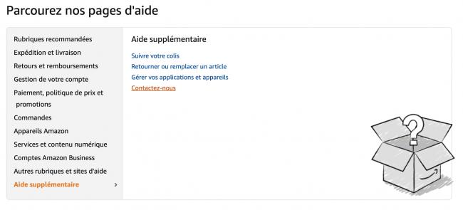 Aide Amazon