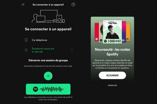 Écouter de la musique entre amis grâce à Spotify Group Session