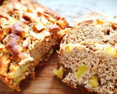 Gâteau aux pommes et à la cannelle