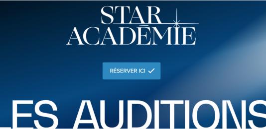 Auditions Star Académie 2021