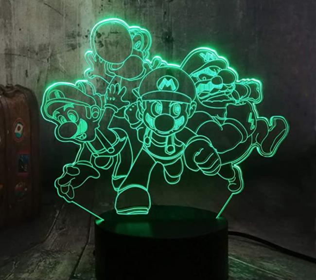 Lampe Mario Bros