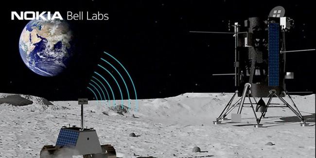 La NASA et Nokia installeront un réseau 4G sur la lune