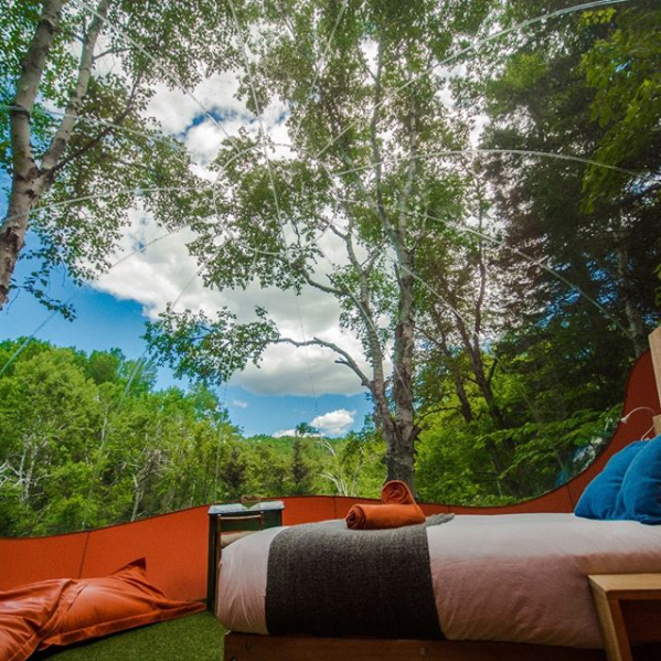 Canopée Lit glamping