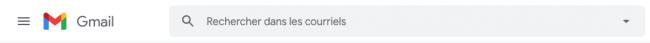 barre de recherche gmail
