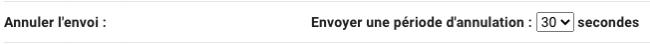 annuler l'envoi gmail