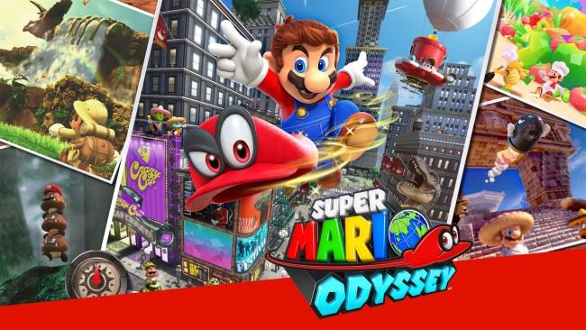 Super Mario Odyssey (2017)