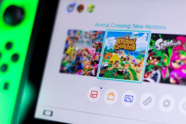 Les jeux les plus joués sur la Nintendo Switch en 2020