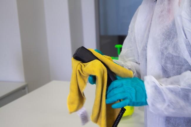 désinfection et nettoyage covid-19