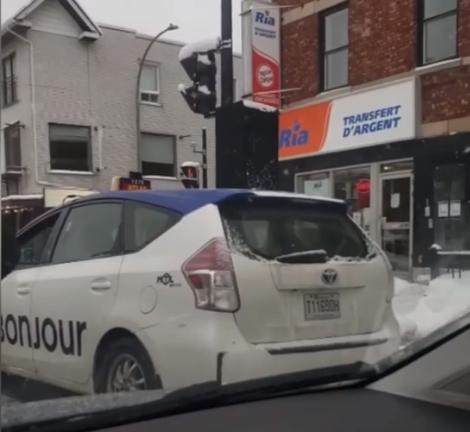 Un cas de rage au volant inusité à Montréal