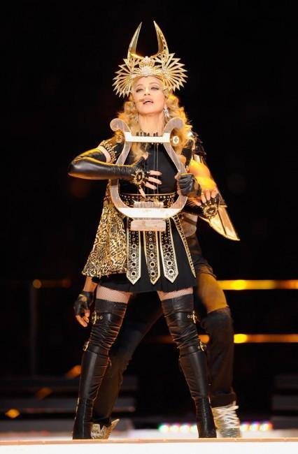 Madonna spectacle de la mi-temps superbowl