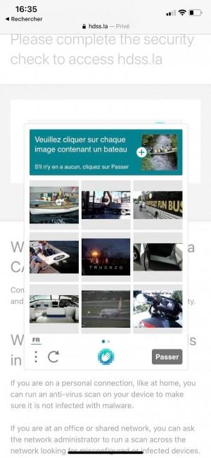 Test CAPTCHA HDSS