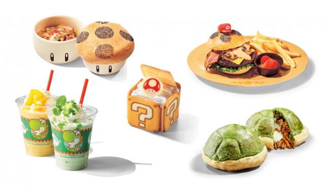 Super Nintendo World nourriture