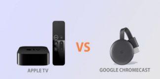 Apple TV ou Chromecast : lequel choisir ?