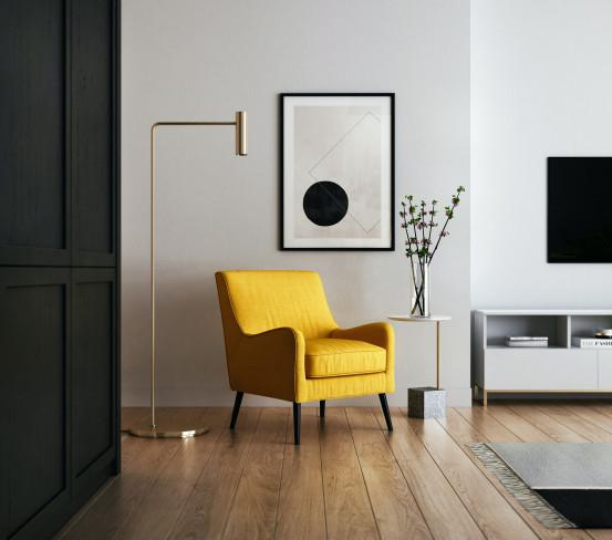 Les lampes sur pied minimalistes