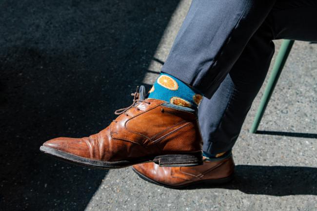 chaussettes amusantes complet homme